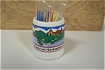 Click to view larger image of Rheinfall, Switzerland  Souvenir Toothpick Holder (Image1)