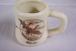 Click here to enlarge image and see more about item TPH0043: Alabama Souvenir Mug Shaped Toothpick Holder