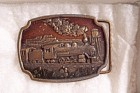 Railroad Belt Buckle