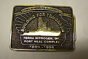 Special Award Solid Brass Belt Buckle (Image1)