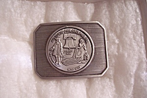 Historic Philadelphia Belt Buckle (Image1)