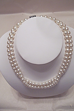 Vintage Two-Strand Cultured Pearl Necklace (Image1)
