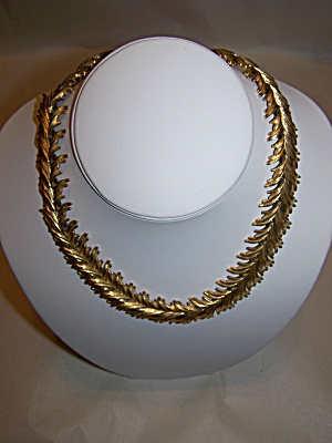 Monet Gold Plated Link Necklace