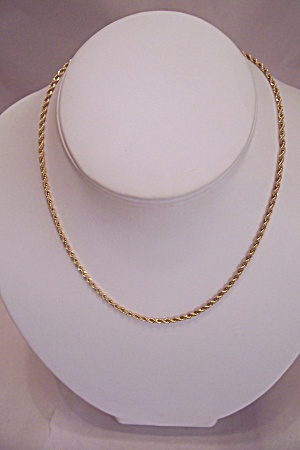 24k Gold Plated Chain Necklace