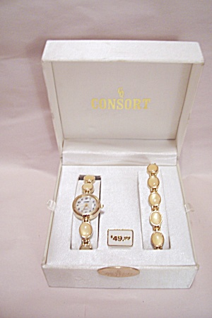 Consort Watch & Bracelet Set