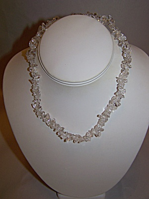 Crystal Glass Nugget Necklace (Image1)