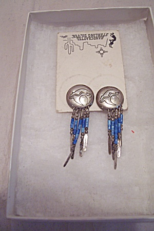 Handcrafted Sterling Silver Southwestern Stud Earrings