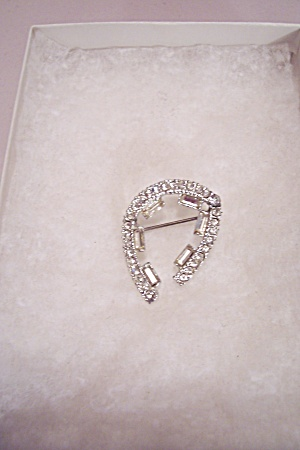 Clear Rhinestone Pin/brooch