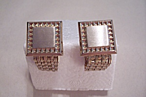 Gold Plated Cuff Links (Image1)
