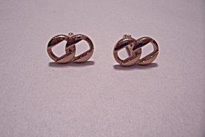 SWANK Gold Plated Stylish Cuff Links (Image1)