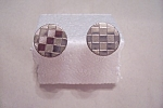 Click here to enlarge image and see more about item VMCAC0015: Round Silver Cuff Links