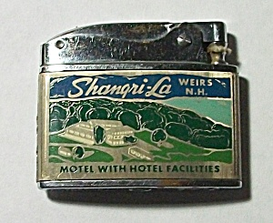 1960`s Adv. Shangri - La Hotel Weirs New Hampshire