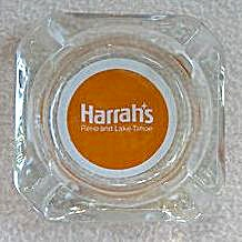Vintage 1960`s Harrah`s Reno & Lake Tahoe Ashtray