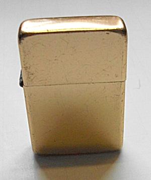 VINTAGE STORM KING POCKET LIGHTER GOLD FINISH (Image1)