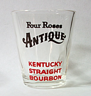 FOUR ROSES ANTIQUE KENTUCKY STRAIGHT BOURBON SHOT GLASS (Image1)