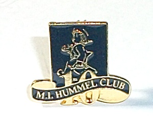 10 Year Pin Back Member M.i. Hummel Club