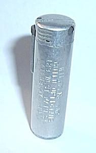 VINTAGE CYLINDER ADVERTISING LIGHTER (Image1)