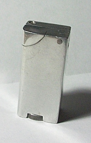 VINTAGE 1950`S ALUMINUM BLOCK LIGHTER (Image1)