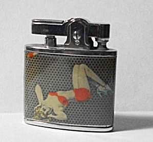 VINTAGE NEW OLD STOCK 1950`S PINUP GIRLIE LIGHTER (Image1)