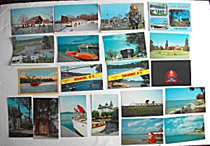 20 N Y Postcards Thousand Islands - Redwood - Chaumont