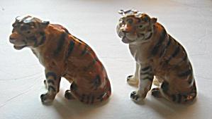2 VINTAGE 1960`S  BELGIAN TIGERS FIGURINES  (Image1)