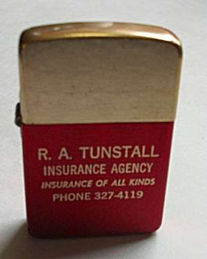Vintage Park Adv. R.a. Tunstall Insurance Lighter