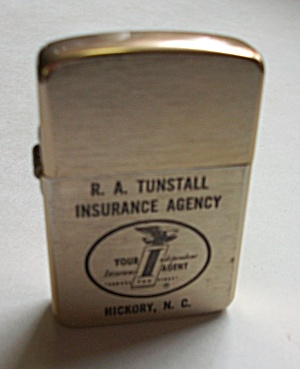 Vintage Unsigned Park Advertising R.a. Tunstall Ins.
