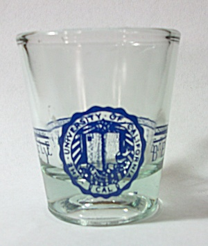 BERKELEY UNIVERSITY OF CALIFORNIA SHOT GLASS (Image1)