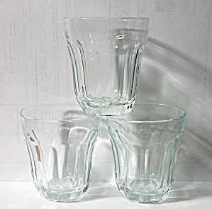 3 VINTAGE PASABAHCE PALAKS #57 TURKEY SHOT GLASSES (Image1)