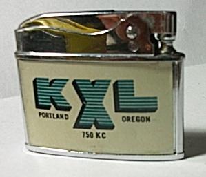 VINTAGE 1960`S SAPPHIRE ADV. K J R950 KC K X L 750 KC (Image1)