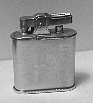 Vintage 1950`s Ronson Whirlwind Pocket Lighter