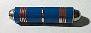 Vintage 1940`s Allbright Blue & Red Tube Lighter