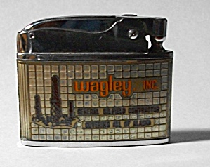 1960`s Barlow Adv. Wagley Inc Alaska Flat Lighter