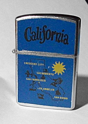 MY LITE CALIFORNIA ADV. CITIES POCKET LIGHTER (Image1)