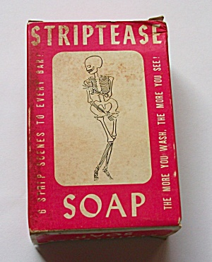 Vintage Striptease Soap Strip Tease Sleaze 196O`s (Image1)