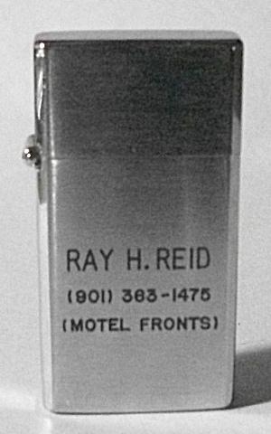 1970`S BARLOW B 15 ADV. RAY REID MOTEL FRONTS MINI  (Image1)
