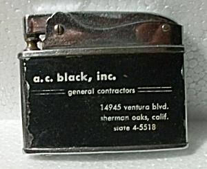1960`S SLIMLITE ADV. A.C. BLACK INC. SHERMAN OAKS CA. (Image1)