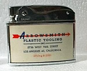 RARE GALPAR ADV. ARROWSMITH LOS ANGELES CA LIGHTER  (Image1)