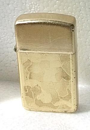 STORM MASTER SLIM GOLD TONE  CAMOUFLAGE LIGHTER (Image1)