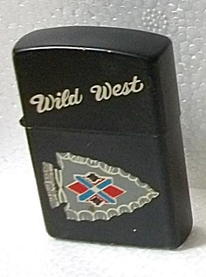 1990`S WILD WEST ARROW HEAD POCKET LIGHTER BY ROMAN (Image1)