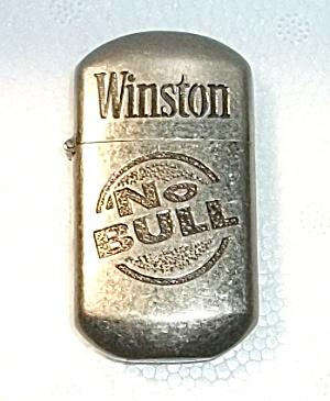 1980`s Winston No Bull Pocket Lighter
