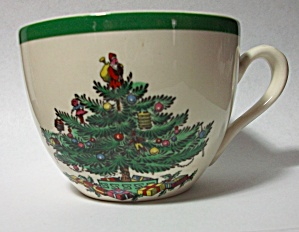 OLD SPODE ENGLAND # S 3324 L CRISTMAS TREE COFFEE CUP (Image1)