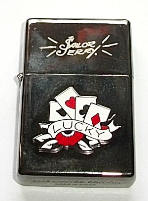 NOS 2006 LIMITED EDITION SAILOR JERRY POCKET LIGHTER (Image1)