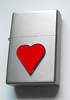 2006 LIMITED EDITION HEART POCKET LIGHTER (Image1)