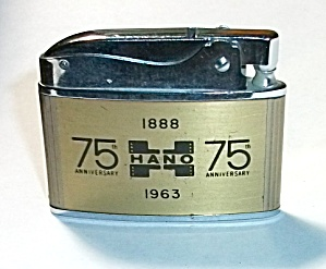 1963 Direct Adv. Philip Hano 75th Flat Lighter