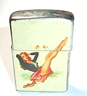 1960`S AMICO JAPAN PINUP POCKET LIGHTER (Image1)