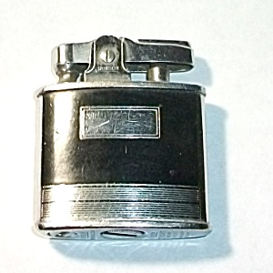 1950`s Ronson Standard Black Enamel Pocket Lighter