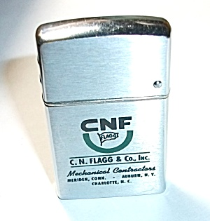 VINTAGE WIND MASTER ADV. C.N. FLAGG & CO. LIGHTER (Image1)