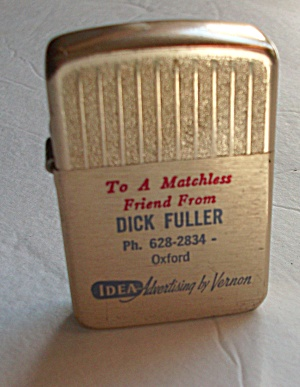 VINTAGE VERNON ADV SALESMAN SAMPLE REP DICK FULLER (Image1)