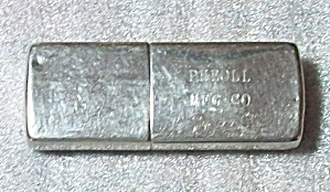 SEIGNEUR U.L. (ENGLAND) ADV. PHEOLL MFG. CO. LIGHTER (Image1)